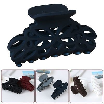 Plastic Hair Claw Clamps Clips Accessory For Women Gir Large Size Available
