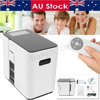AU 1-5L 220V Portable Oxygen Concentrator Generator Machines Full Intelligent