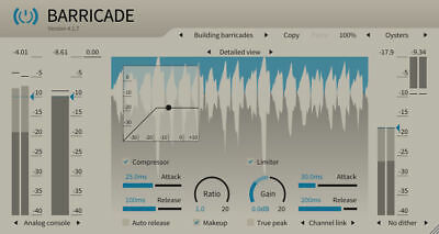 ToneBoosters Barricade 4 (MAC, Windows) VST, VST3, AU, AAX  plugin