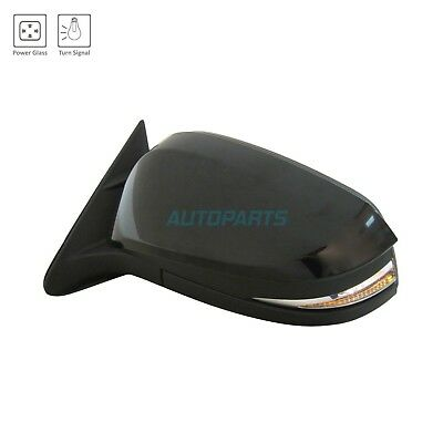 New Lh Power Mirror W/o Heated Glass Fits 2014-2016 Toyota Highlander To1320319