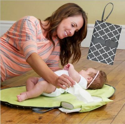 Waterproof Baby Changing Mat Sheet Portable Diaper Changing Pad Travel Table Cha