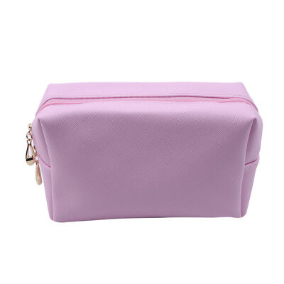 Portable Toiletry Bags PU Leather Waterproof Travel Cosmetic Bag Organizer G