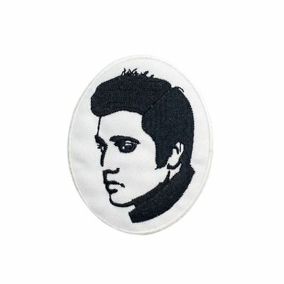 Elvis (Iron on) Embroidery Applique Patch Sew Iron Badge