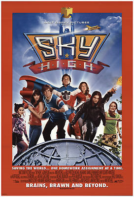 Sky High 2005 27x40 Orig Movie Poster FFF-71414 Rolled Fine, Very Fine