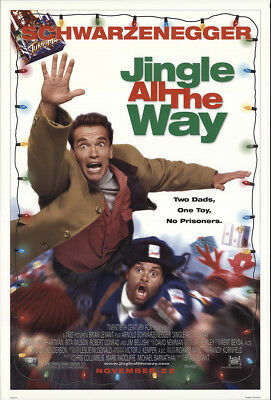 Jingle All the Way 1996 27x41 Orig Movie Poster FFF-22601 Rolled Fine, Very Good