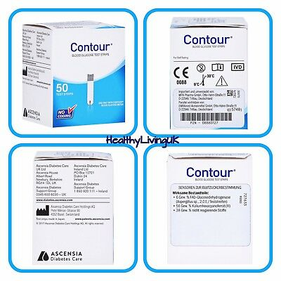 Bayer Contour Blood Glucose Diabetic Test Strips **BRAND NEW & SEALED**
