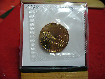 1994  Canada  Dollar  Coin  Loonie Top Grade  See Photos  94  Proof Like  Sealed