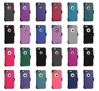 For iPhone 8 Plus & iPhone 7 Plus Case Cover w/(Clip Fit OtterBox Defender)