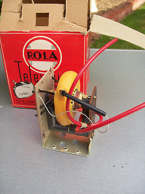 Vintage ROLA HT transformer TV461 for b/w television set, NOS