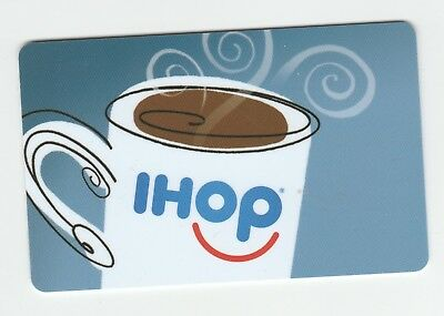 IHOP collectible gift card no value mint #01 Coffee