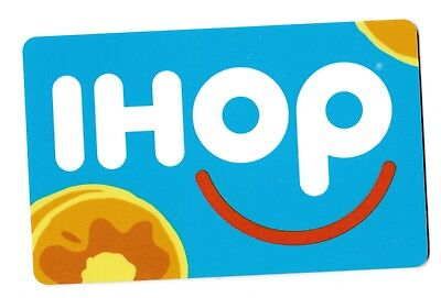 IHOP collectible gift card no value mint #02 Pancake