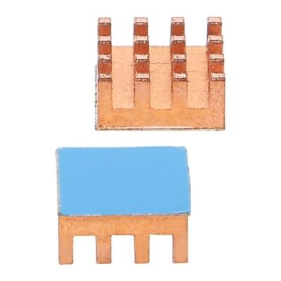 1x Pure Copper Heat Sink Back Memory RAM Sink Cooling Fr MOS GPU IC Chip Cooler