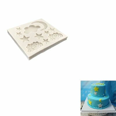 DIY Cloud Star Moon Silicone Mold Cake Tools Chocolate Cake Decorating Bakeware