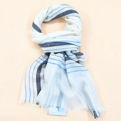 New wool plaid scarf for autumn  winter men and women thin warm high-end shawl