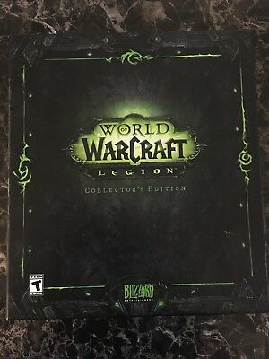 World Of Warcraft: Legion Collector's Edition Wow Pc No Game
