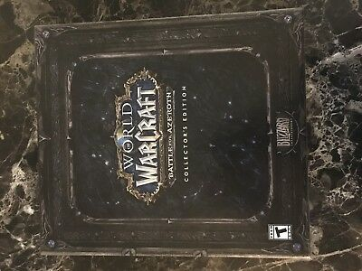 World of Warcraft Battle for Azeroth Collector's Edition - PC NO GAME