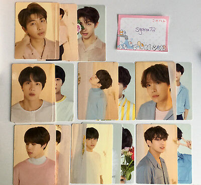 BTS Love Yourself Tour Photocard [Official] - Choose Member