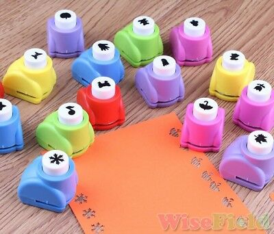 1Pcs DIY Paper Punch Cutter Printing Hand Shaper Scrapbook Tags Cards