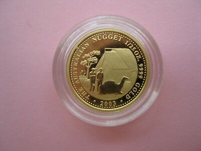 Gold Coin Prospector 1.25g Proof. Pure Gold 99.99 with Certificate
