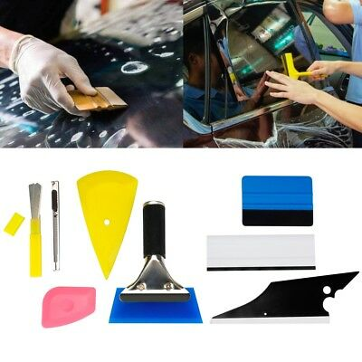 8pcs Car Window Tint Tools Kit Set Scraper Squeegee for Auto Film Tinting US
