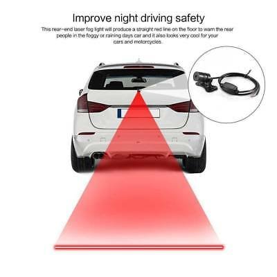 1 Set  Car LED Motorcycle Laser Fog Light Anti Collision Tail Warning Lamps