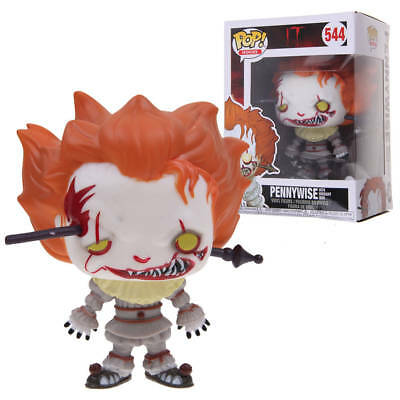 Funko Pop!IT Pennywise IRON ROD FYE Exclusive #544 Vinyl Figure Gift New IN Box