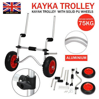 Sit On Top Aluminium Kayak Trolley Adjustable Heavy Duty Universal Scupper Stand