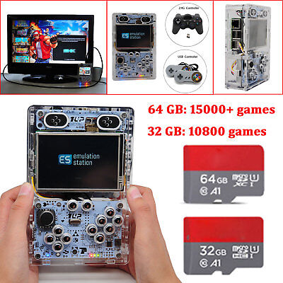 Retropie Retro Gaming Console Raspberry Pi 3B+ Handheld Game Player 10000+ Games