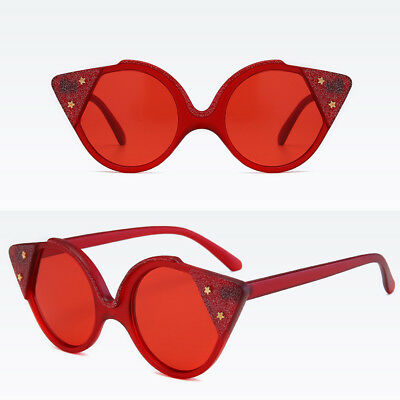 Retro Cat Eye Eye Sunglasses Women Ladies Eyewear Shades UV400 NEW CHR
