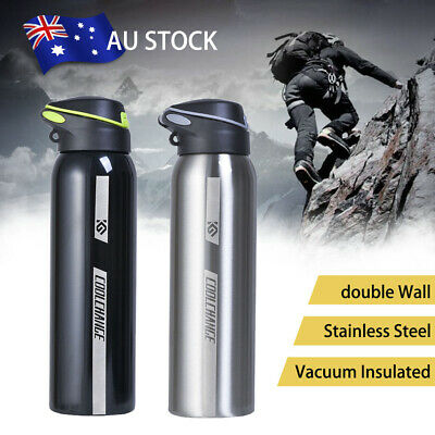 0.5L Water Flask Thermos Stainless Steel Vacuum Insulated Dual Wall Drink Bottle