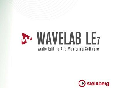 Steinberg WaveLab LE 7 windows
