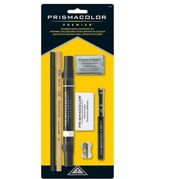 Prismacolor Accessory Kit with Blenders and Erasers 7-Piece Multi Worldwide