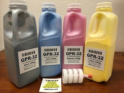 (400g x 4) GPR-32 Toner Carrier mixed Refill for Canon C9065/C9075/C9270/C9280
