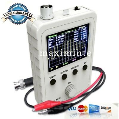 2.4 inch LCD Display Digital Oscilloscope DSO150 w/ Test Clip fully Assembled