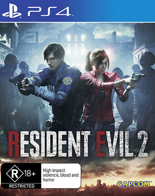 Resident Evil 2 PS4 Game NEW PREORDER 25/1