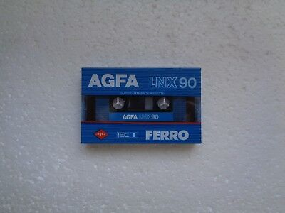 Vintage Audio cassette AGFA LNX 90 * Rare From 1982 * - 10% OFF