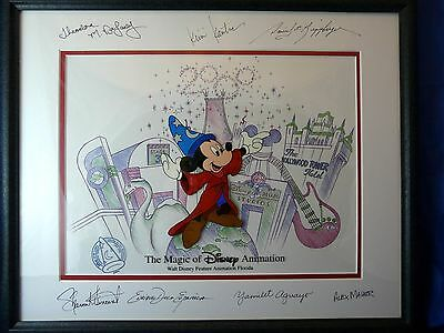 Millennium Magic Disney Mickey Mouse (Sorceror) Ltd. Ed. Cel - SIGNED/FRAMED