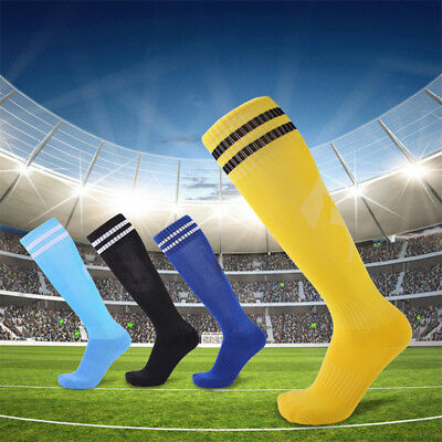 Mens Soccer Football Socks Over Knee High Long Sock Baseball Hockey Runing Sport
