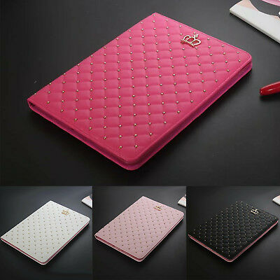 For iPad 9.7 2018 6th 2017 Cute Smart Leather Stand Flip Tablet Shell Case Cover