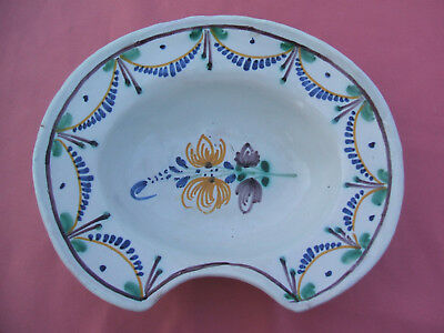 ANCIEN PLAT DE Barbier Faience De Nevers Decors Au Bucheron - EUR 15 ... 09044124118