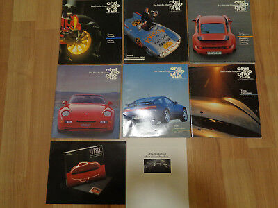 Porsche Christophorus Magazine 1991 Full Year 6 Issues With Extras German