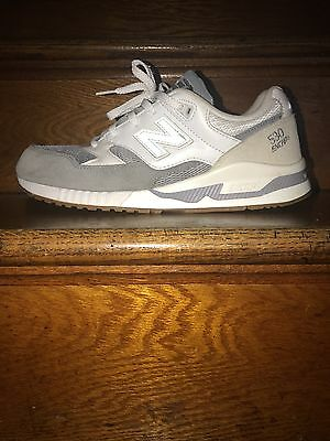 63a80226b5fe New Balance M530AB D Grey & White & Gum Classic Retro Suede Lifestyle Shoes
