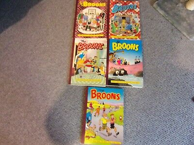 The Broons  Annuals 1987, 89, 91,93 and 1995