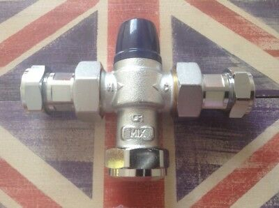 22Mm Thermostatic Mixing Valve, Boss, Tmv2,freepost 🇬🇧🙂