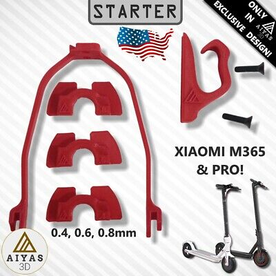 STARTER PACK - Scooter Xiaomi Mijia M365 M187 Useful Accessories 3D Printed USA