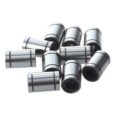 3X(Ball Bushing Linear Motion 8mm x 15mm x 24mm Double Sealed 10 Pcs T2G9) P2