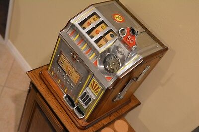 Antique Pace Bell Bantam 5 Cent Slot Machine