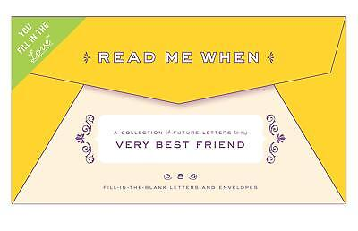 Knock Knock Letters To My Very Best Friend Read Me When Gift Box