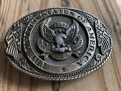 The United States Of America Belt Buckle