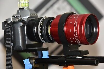 Isco Anamorphic Ultra-Star Red Plus 2.1 2x Cinemascope TESTD MFT Full Frame 055